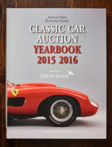 Classic Car Auction Yearbook 2015-2016. Photo courtesy of Historica Selecta/ Marco Moretto.